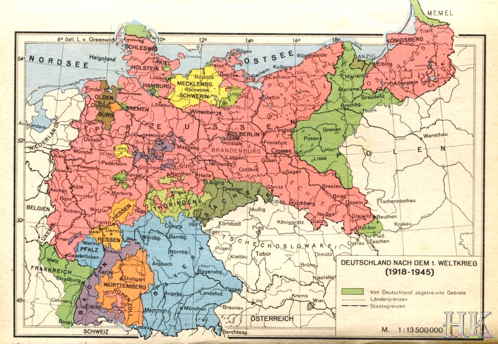 weltkrieg 1918 1945 germany after the peace treaty of 1919